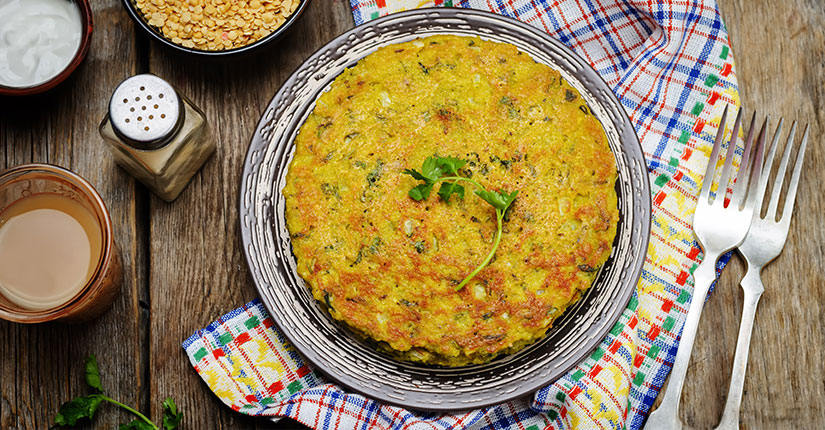 Moong Sprouts Bajra Pesaruttu