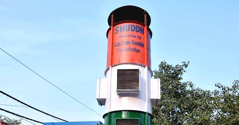 First Smog Tower Installed in Delhi's Lajpat Nagar