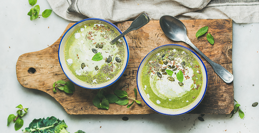 Broccoli Coconut Soup