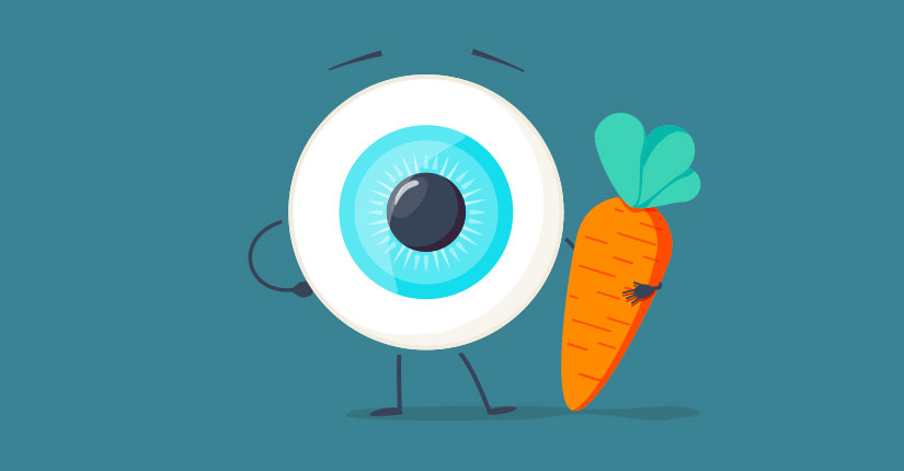 Connection Between Good Nutrition & Eyesight