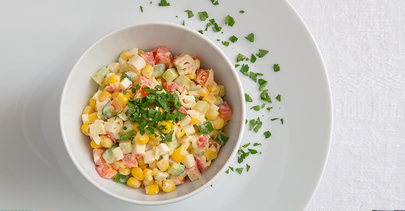 Sweet corn and Paneer Salad