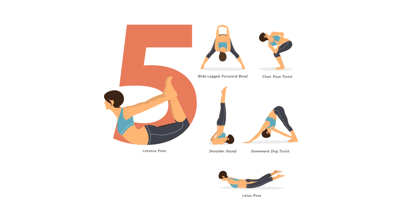 5 Yoga Poses You Must do Every Morning
