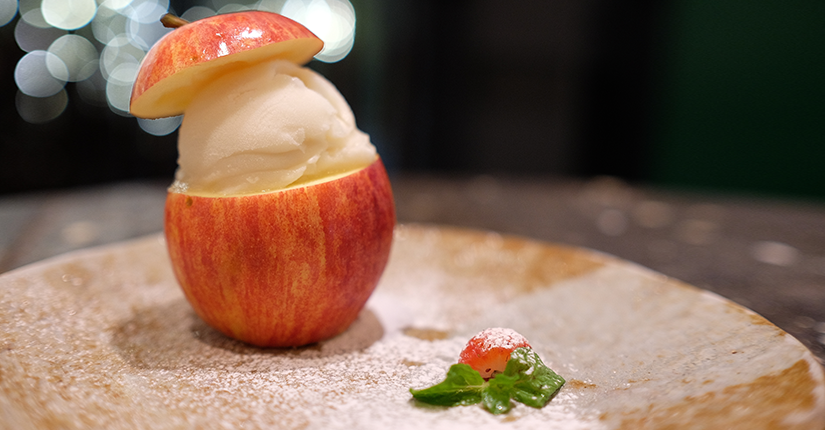WOOD APPLE SORBET
