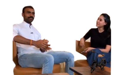 Sreejesh Parattu Raveendran with Nmami Agarwal