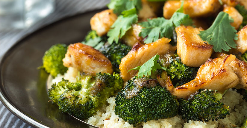 Lemony Broccoli Chicken