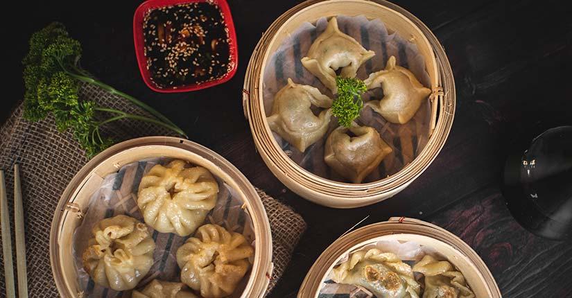 Soya dumplings
