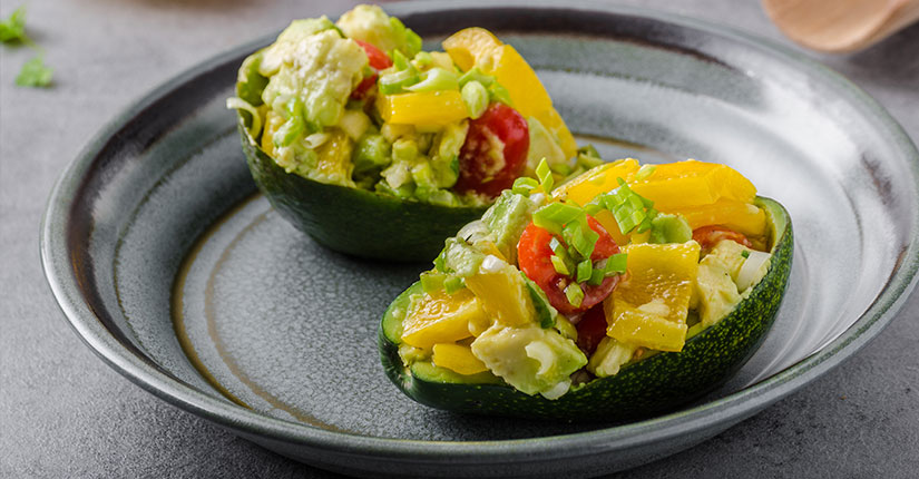 Vegan Stuffed Avocado