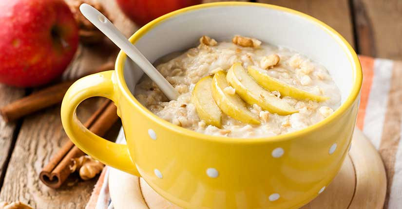 Apple Walnut Kheer