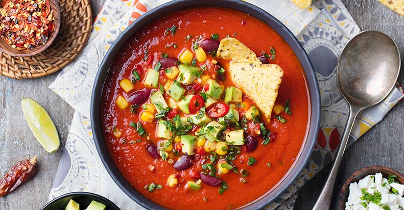 Veg Tortilla Soup