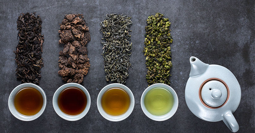Know the Difference Between White Tea, Black Tea & Green Tea