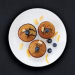 No Sugar Blueberry Muffins