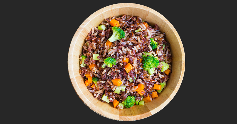 Veggie Brown Rice Bowl