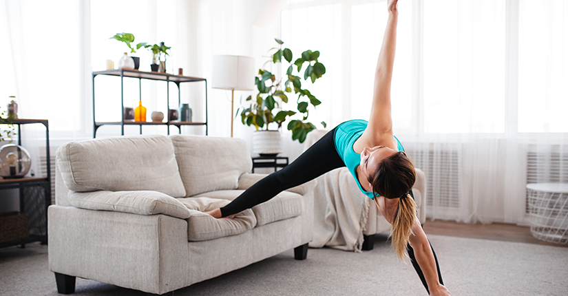 Learn How to Ace Home Workouts Using Furniture