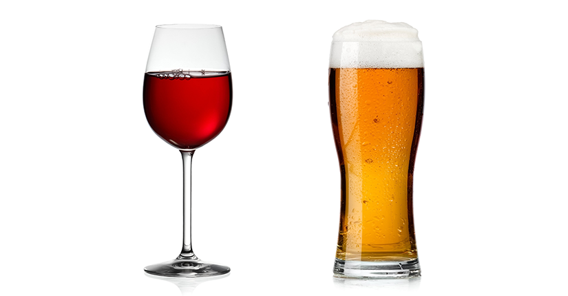 Know Which One is the Healthiest: Wine v/s Beer