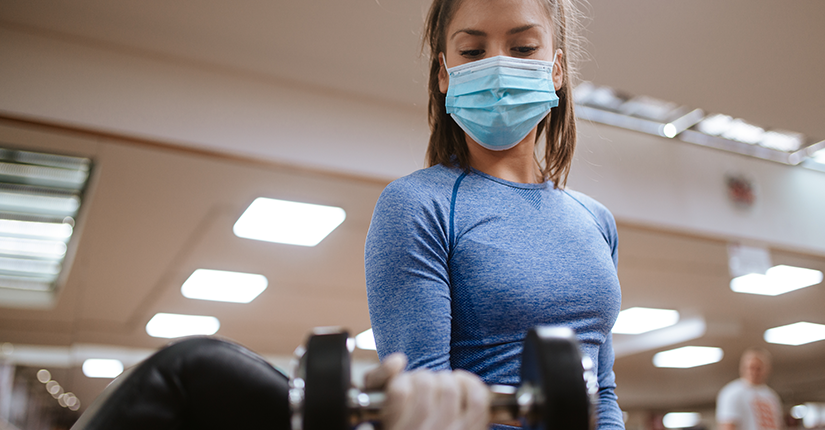While Gyms Reopen, Here are Things to Remember When Wearing A Mask In Gym