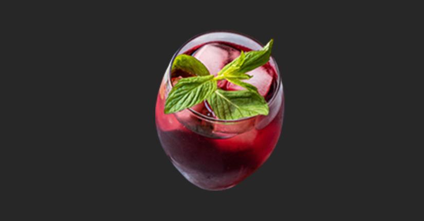 Hibiscus ginseng iced tea