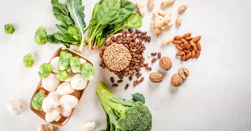 Vegan High Protein Food