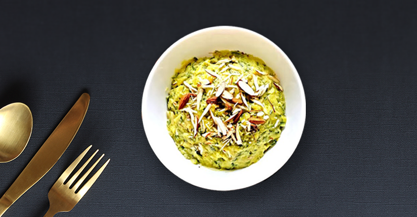 The Nutty Zucchini Halwa