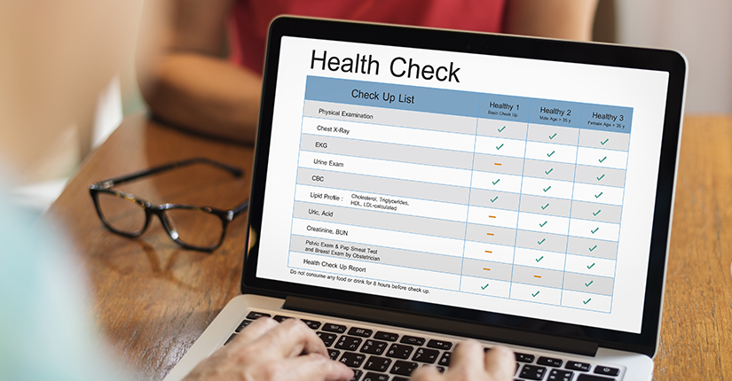 Your New Year Health Check List Is Here