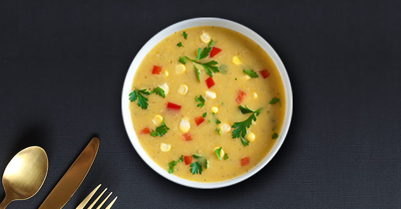 Chicken and Corn Soup.