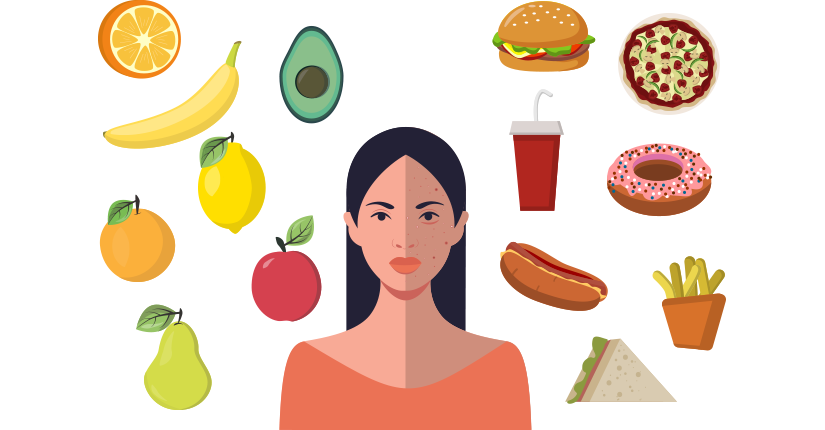 5 Ways How Food Affects the Skin