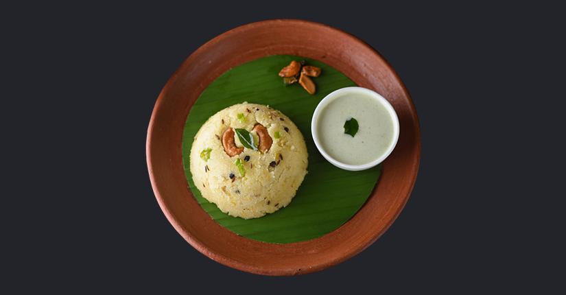 Nutty Rava Pongal