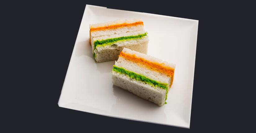 Tricolor Sandwich Roll