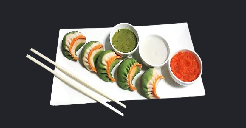 Tricolor Dumplings