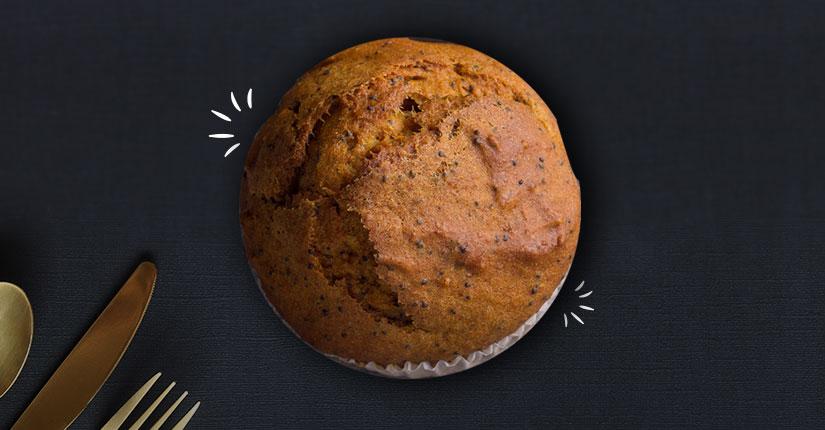 Poppy Seeds Muffin