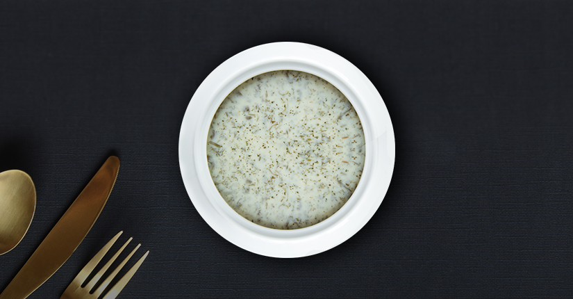 Herbed Yogurt Rice Soup