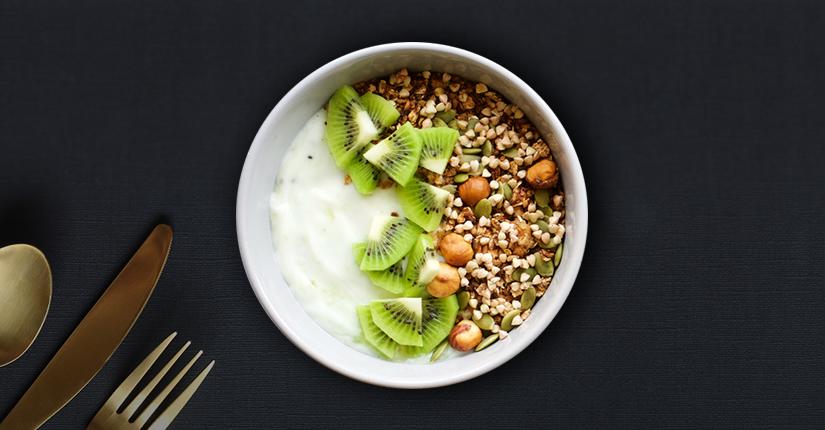 Buckwheat and Chia seeds Porridge