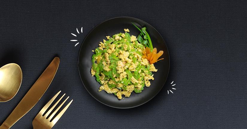 Bittergourd Egg Rice