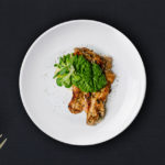 Grilled Chicken with Spinach & Pesto