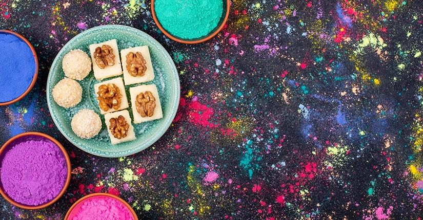 Holi – 6 Ways to turn Holi into a Healthy celebration