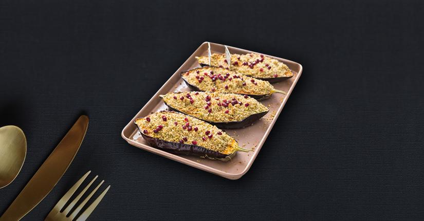 Turmeric Roasted Eggplant