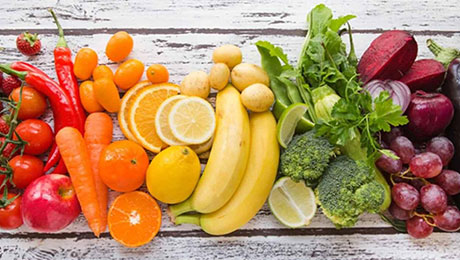 Rainbow on my plate – Fruits and Vegetables consumption