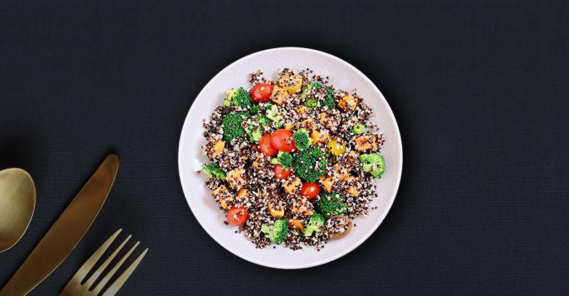Warm Vegetable Grain Salad