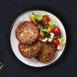 Kale, Spinach and Mushrooms Patties