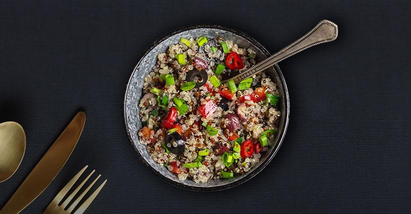 Quinoa and Bean Chilli