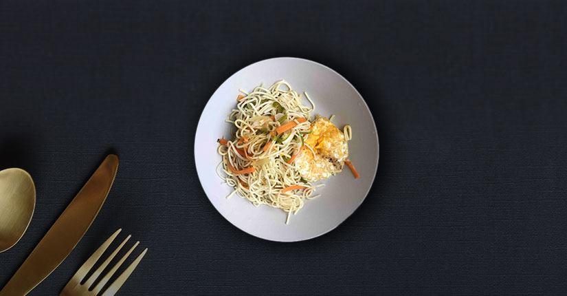 Eggetarian Noodles