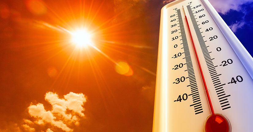 Rising Temperature – How to avoid heat related illnesses