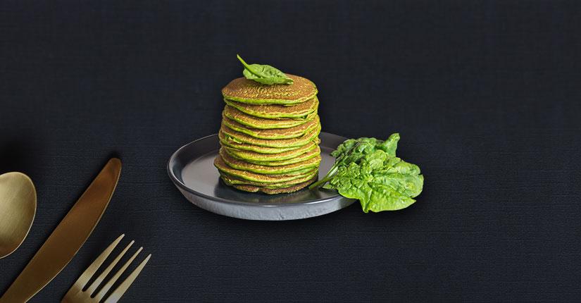 Powerup Spinach Pancake