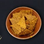 Saffron and Cumin Seed Cracker