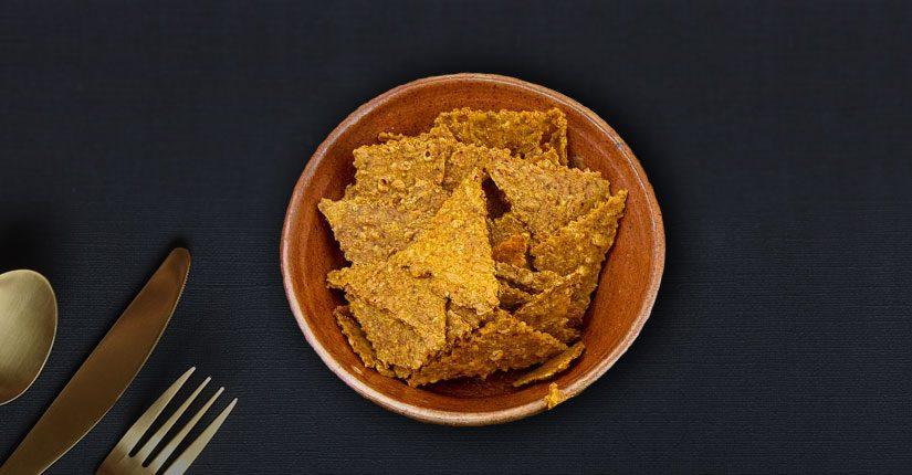 Saffron and Cumin Seed Cracker