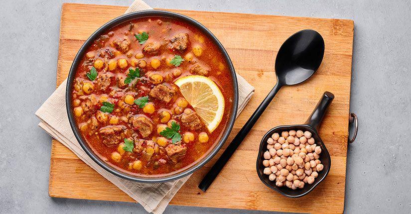 Chickpea Turmeric Stew