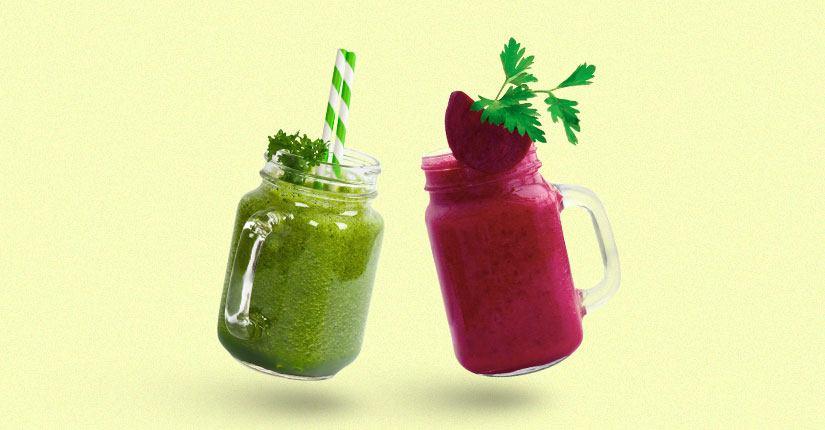 Kale Beetroot Smoothie