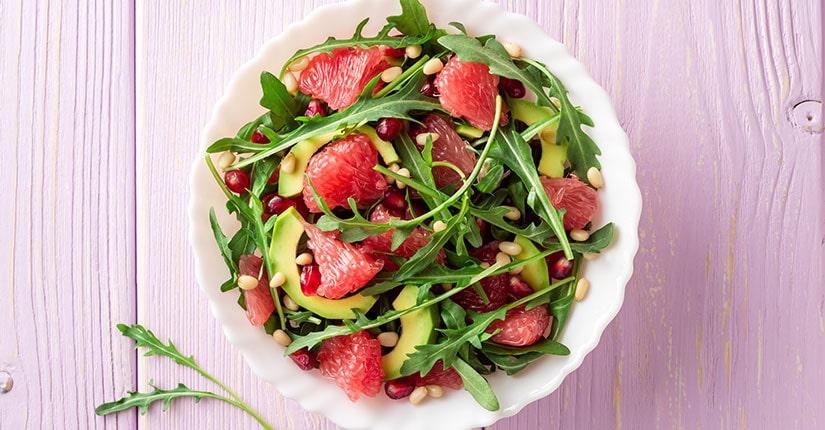 Greens and Grapefruit Salad