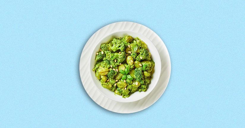White Bean and Broccoli Salad