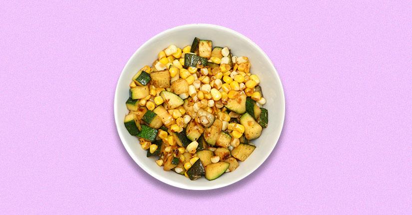 Zucchini and Corn Salad