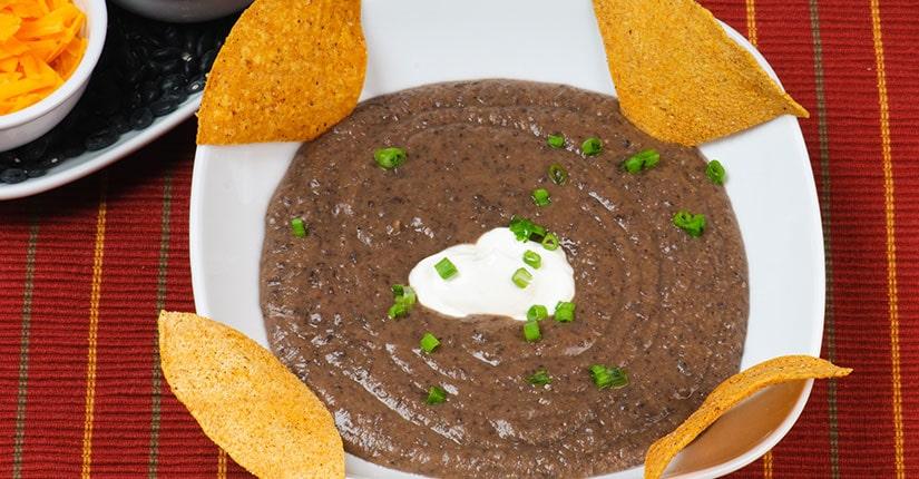 Black-Bean Salsa Soup